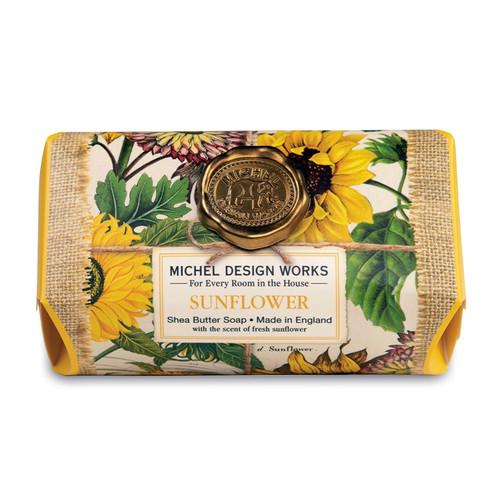 Sunflower Large Bath Soap Bar