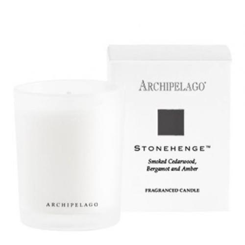 Petite Box Votive Candle - Stonehenge