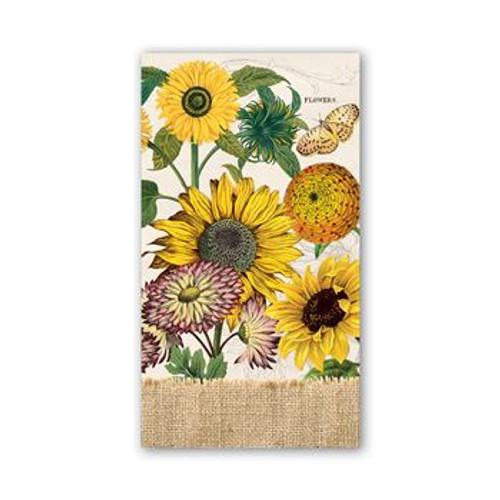 Sunflower Hostess Napkins