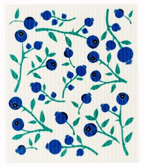 Swedish Dishcloth - Blueberries