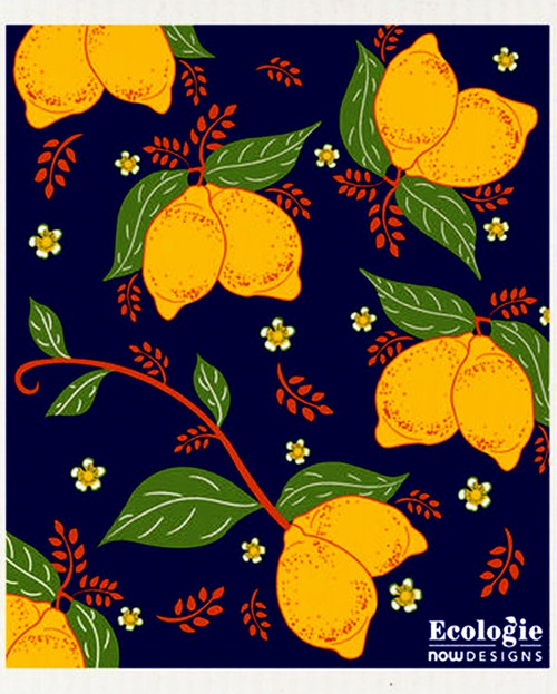 Swedish Dishcloth - Provencal Lemons