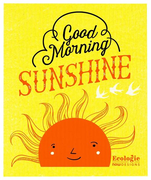 Swedish Dishcloth -  Good Morning Sun