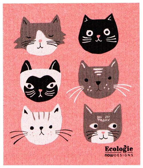 Swedish Dishcloth -  Cats Meow