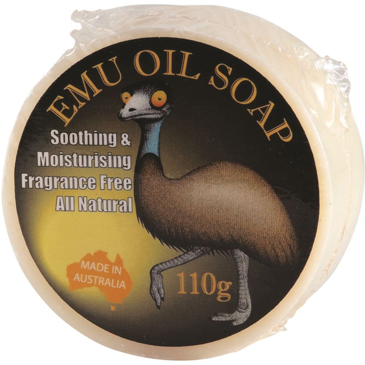 made from Australian Emu Oil 3 x 120g ONLY EMU Soap Pet Natural