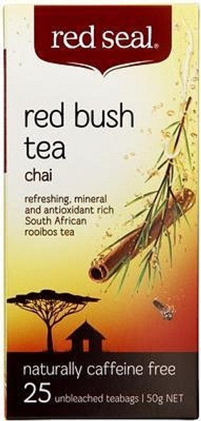 Red Seal Red Bush Chai 25 Teabags