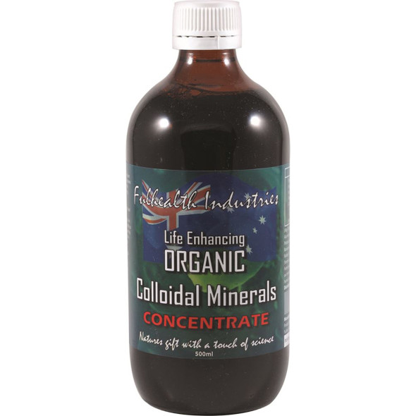 Fulhealth Industries Colloid Minerals Organic 500ml