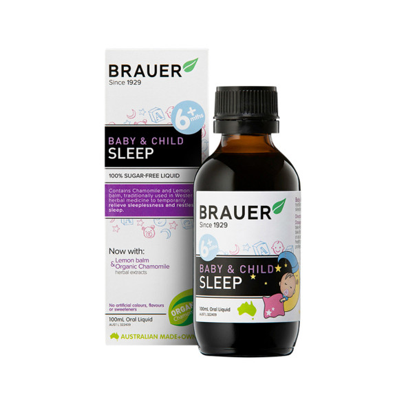 Brauer Baby and Child Sleep For Trouble Sleeping 100ml