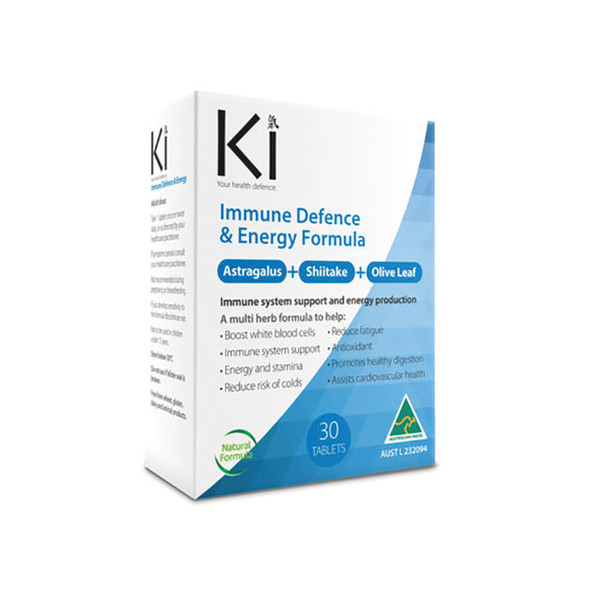 Martin Pleasance Ki Immune Defence and Energy 60 Tabs