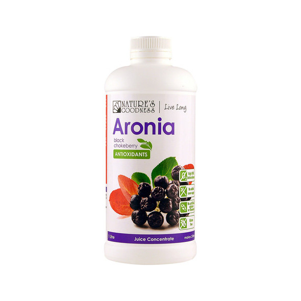Nature's Goodness Aronia Juice Concentrate 1L