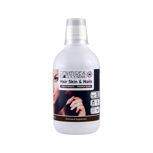 Nature's Goodness Hair Skin and Nails 500ml