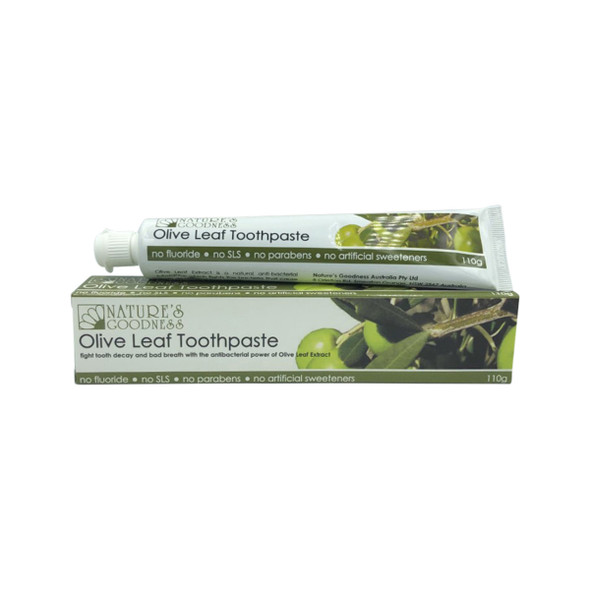 Nature's Goodness Olive Leaf Toothpaste 110g