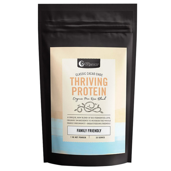 Nutra Organics Thriving Protein Cacao Choc 1kg