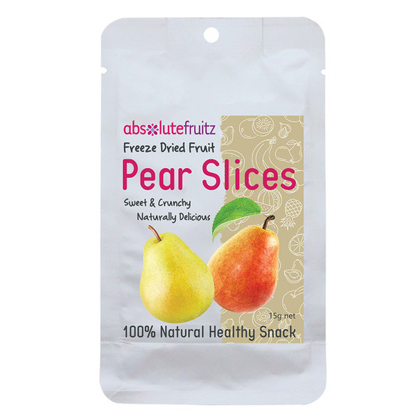AbsoluteFruitz Freeze Dried Pear Slices 15g