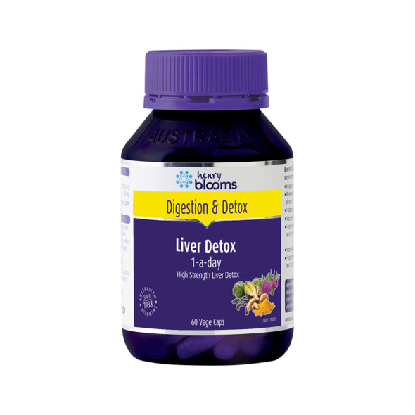 Henry Blooms Liver Detox (1 a day) 60 Caps