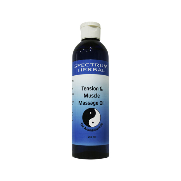 Spectrum Herbal Tao Tension and Muscle Aromassage Oil 250ml