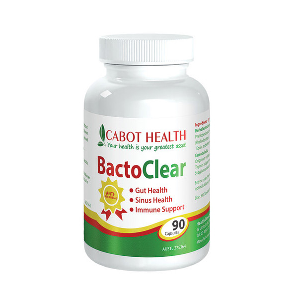 Cabot Health BactoClear 90 Caps