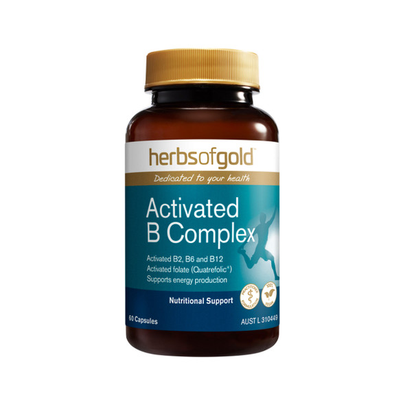 Herbs of Gold Activated B Complex 60 Caps