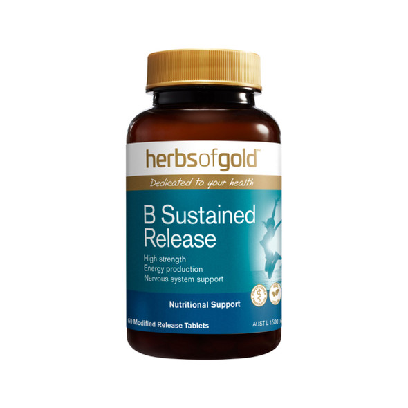 Herbs of Gold B Complete Sustained Release 60 Tabs
