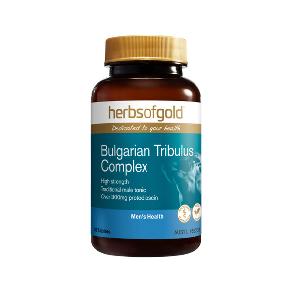Herbs of Gold Bulgarian Tribulus Complex 30 Tabs