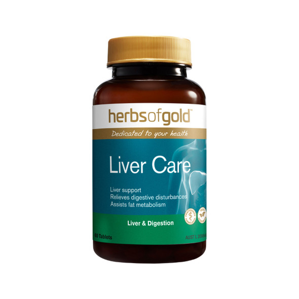 Herbs of Gold Liver Care 60 Tabs