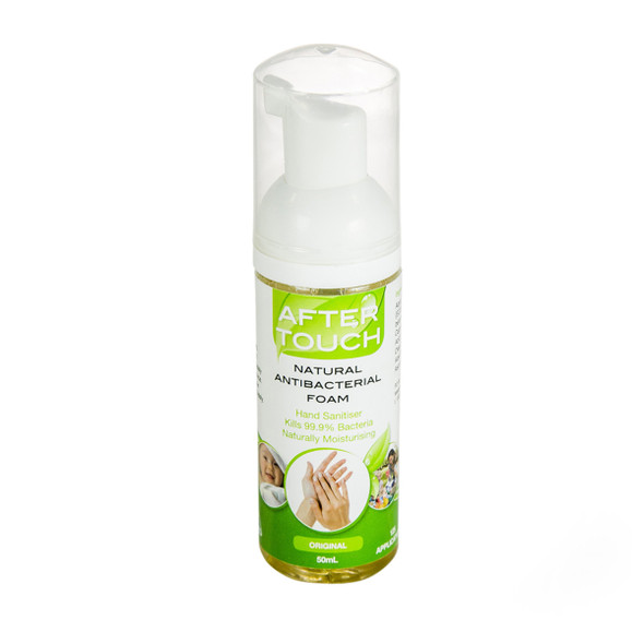 After Touch Natural Hand Sanitising Foam 190ml