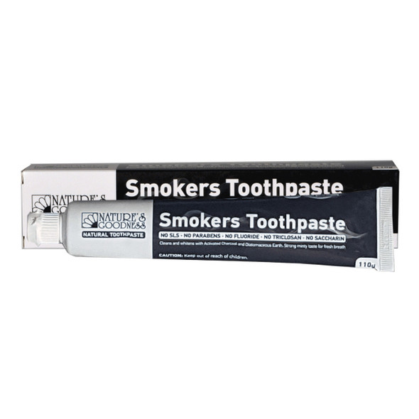 Nature's Goodness Toothpaste Smokers 110g