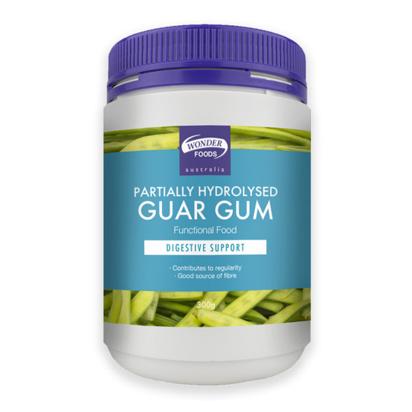 Wonder Foods Partially Hydrolysed Guar Gum 300g