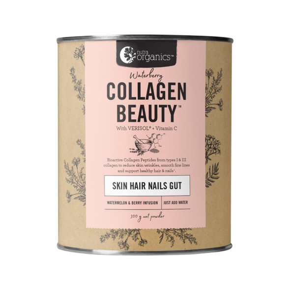 Nutra Organics Collagen Beauty Waterberry
