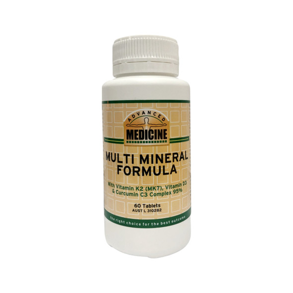 Advanced Medicine Multi Mineral Formula 60 Tabs