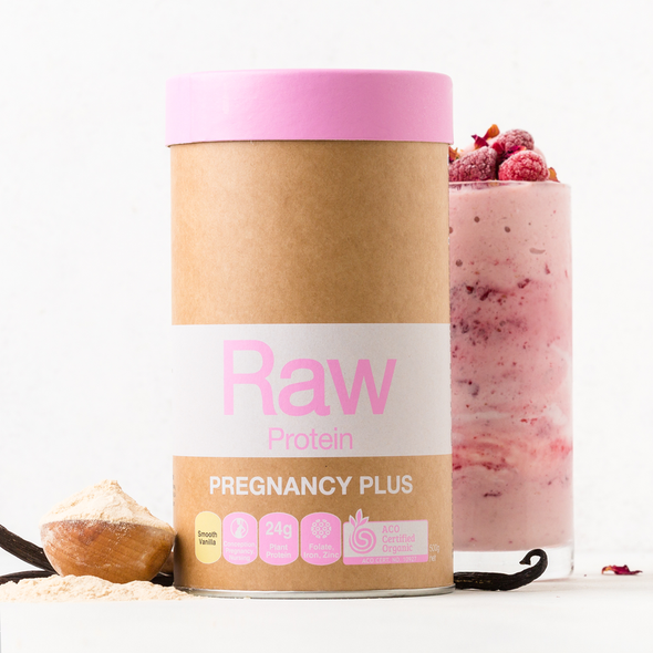 Amazonia Raw Protein Pregnancy Plus Smooth Vanilla 500g