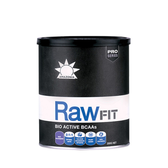 Amazonia Raw FIT Bio Active BCAAs Acai Blackberry 200g