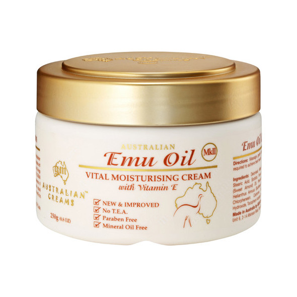 Australian Creams MkII Cream Emu Oil 250g