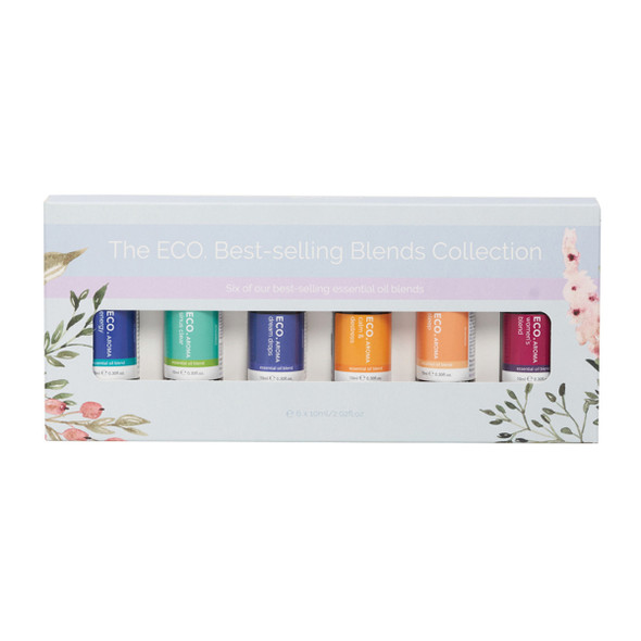 ECO Aroma Essent Oil Blends Bestselling 10ml x 6 Pack