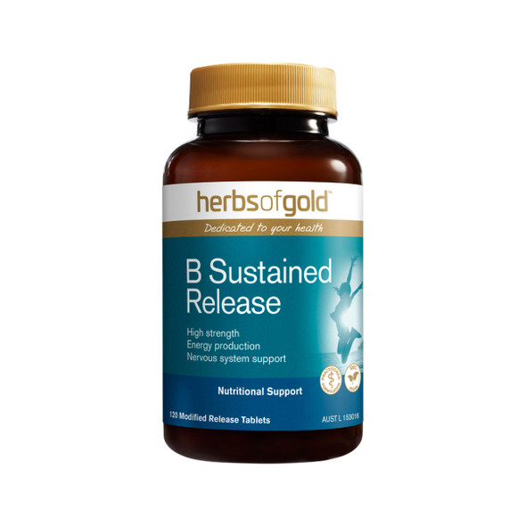 Herbs of Gold B Sustained Release 120 Tabs