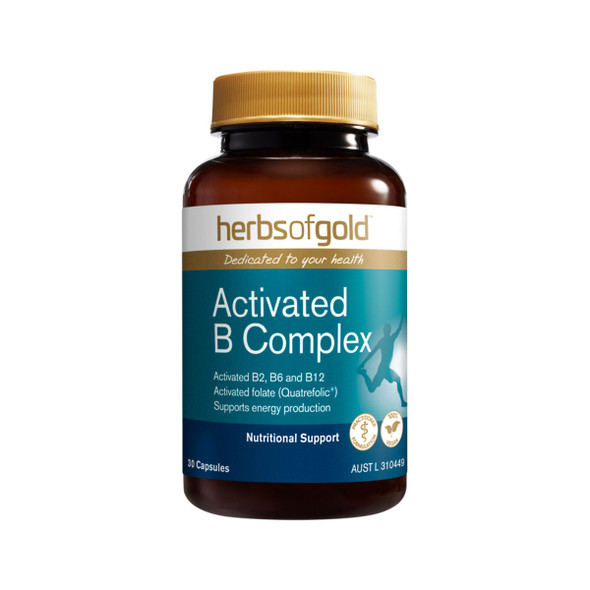 Herbs of Gold Activated B Complex 30 Caps
