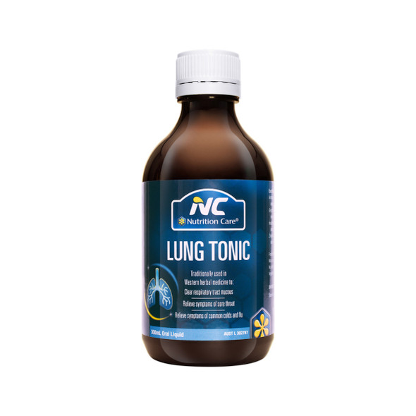 Nutrition Care Lung Tonic 300ml