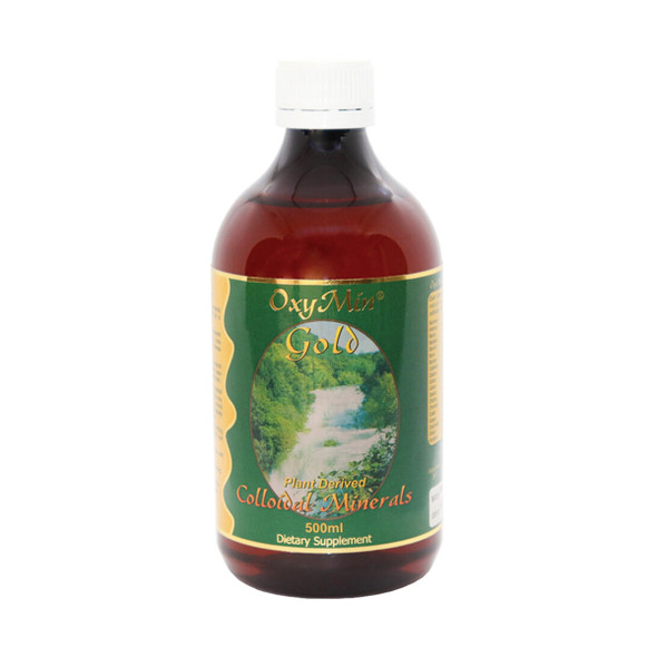 OxyMin Gold (Plant Derived Colloidal Minerals) 500ml