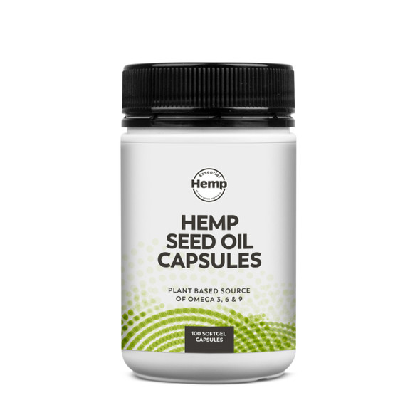 Essential Hemp Hemp Seed Oil Capsules 100 Caps