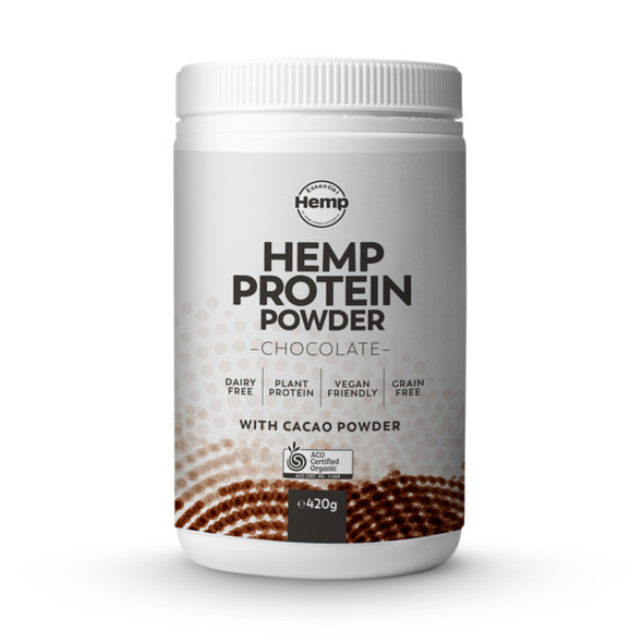 Essential Hemp Organic Hemp Protein Powder Chocolate 420g