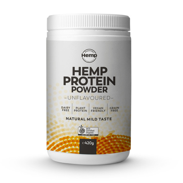 Essential Hemp Organic Hemp Protein Powder Unflavoured 420g