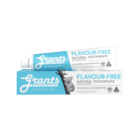 Grants Toothpaste Flavour Free 110g