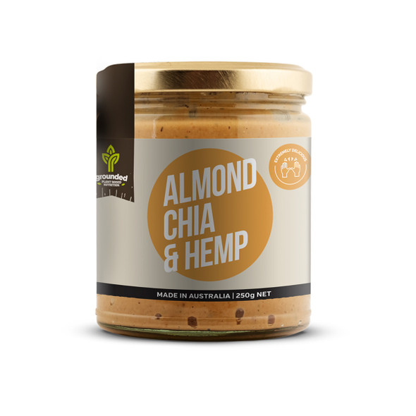 Grounded Spread Almond Chia and Hemp 250g