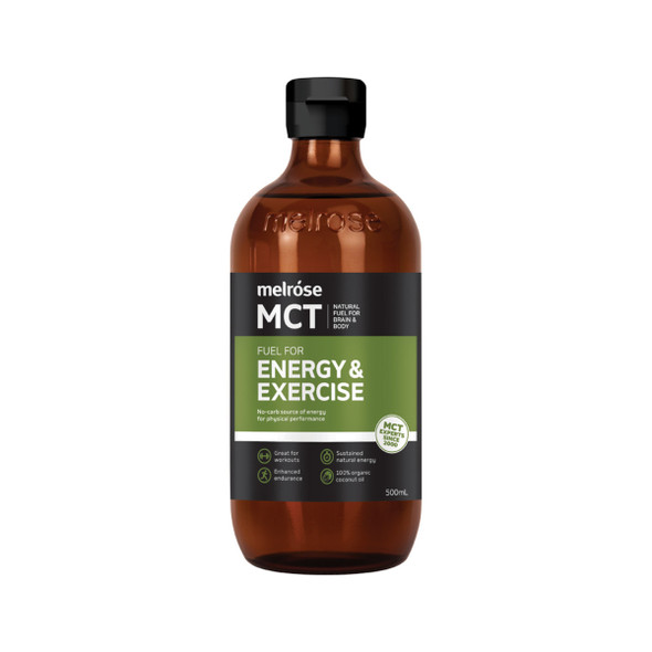 Melrose MCT Oil Energy and Exercise 500ml