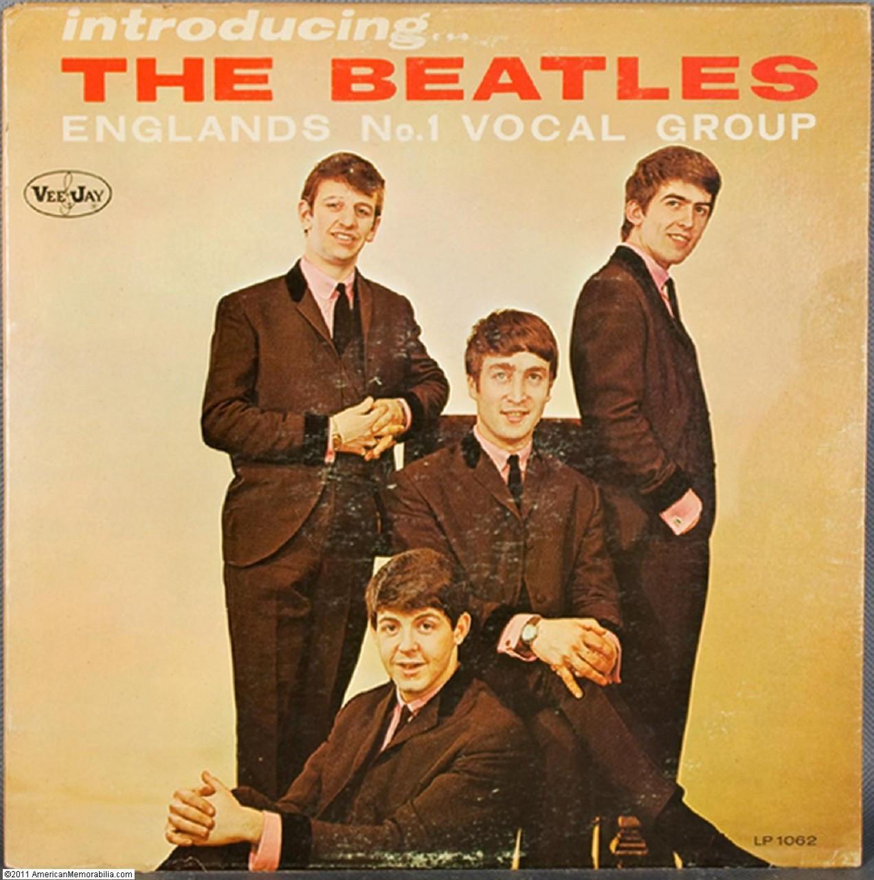 Introducing The Beatles [Vinyl] - '80s Vee-Jay Reissue, Black Label