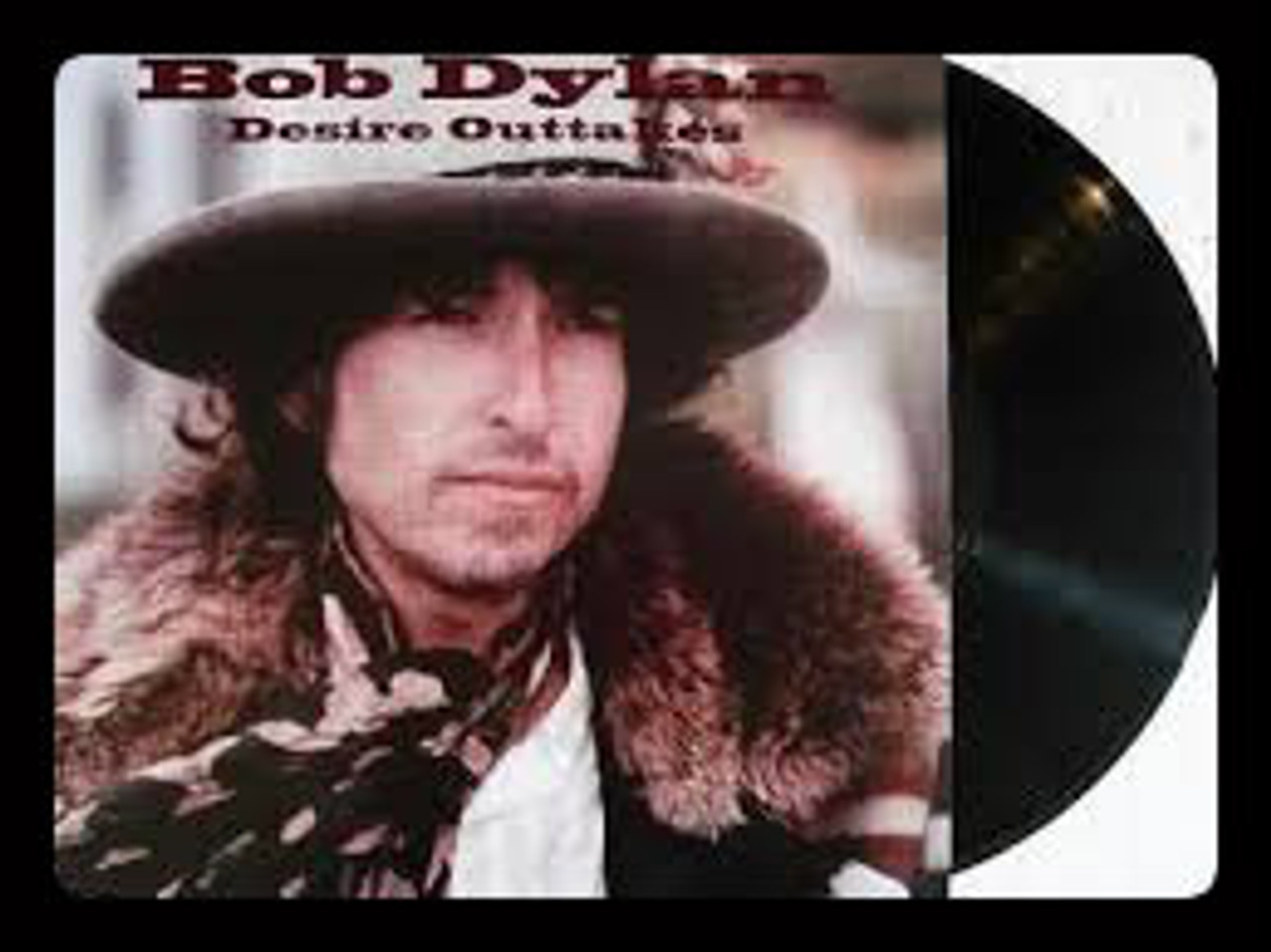 DESIRE OUTTAKES, Bob Dylan - EU Import LP on Colored Vinyl