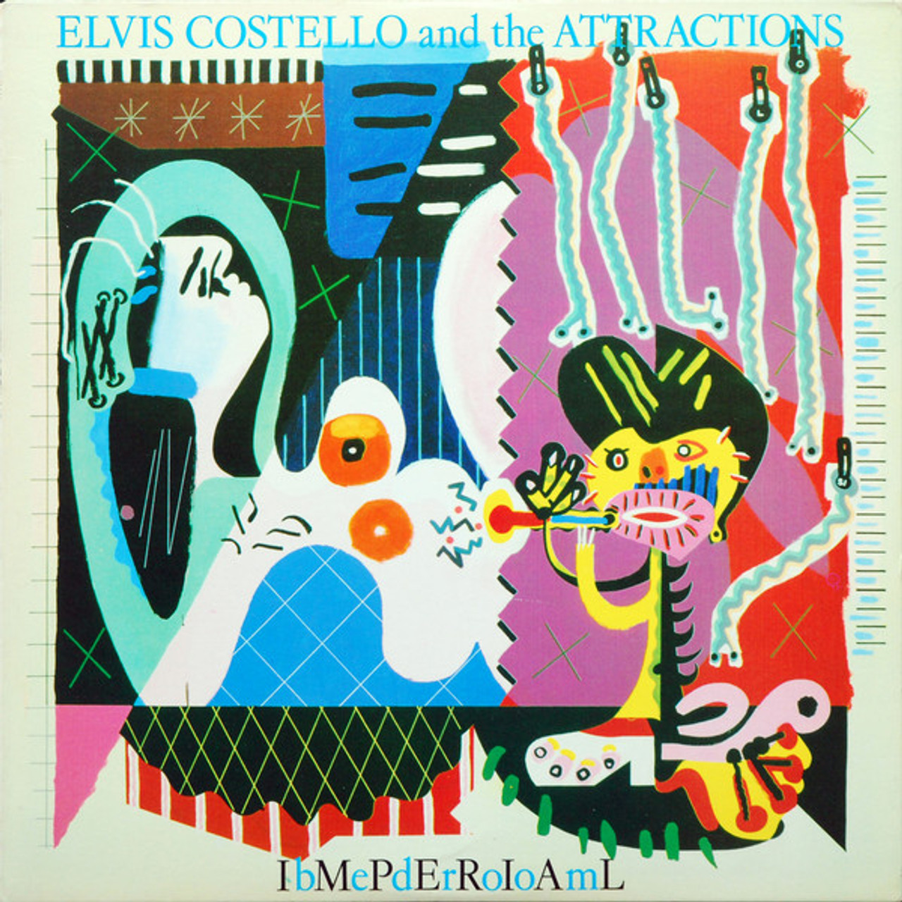 Imperial Bedroom, Elvis Costello - Shrink w/Hype Label ...