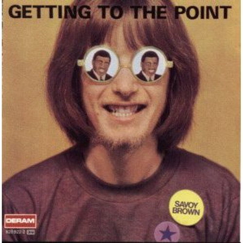 Getting to the Point [CD] by Savoy Brown - Rare Alternate Cover