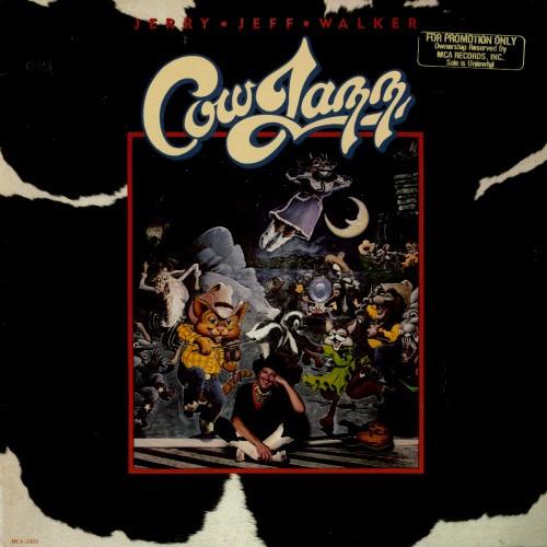 JERRY JEFF WALKER - cow jazz MCA 5355 (LP vinyl record) [Vinyl]