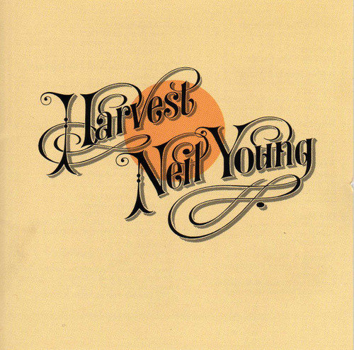 NEIL YOUNG Harvest -Original 1972 Vinyl LP w/Textured Cover
