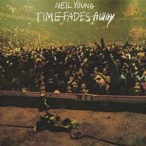 NEIL YOUNG Time Fades Away - 1973 Reprise Vinyl LP w/Original Poster